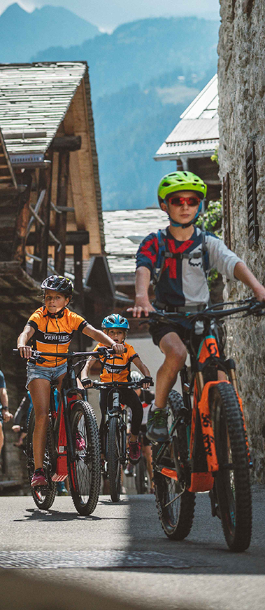 Verbier E-Bike Kids Race